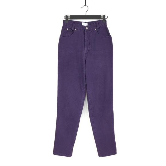 Vintage Denim - Vintage High Waisted Plum Jeans by OSC Sport ✨